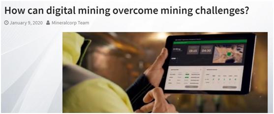 数字采矿如何克服采矿挑战?